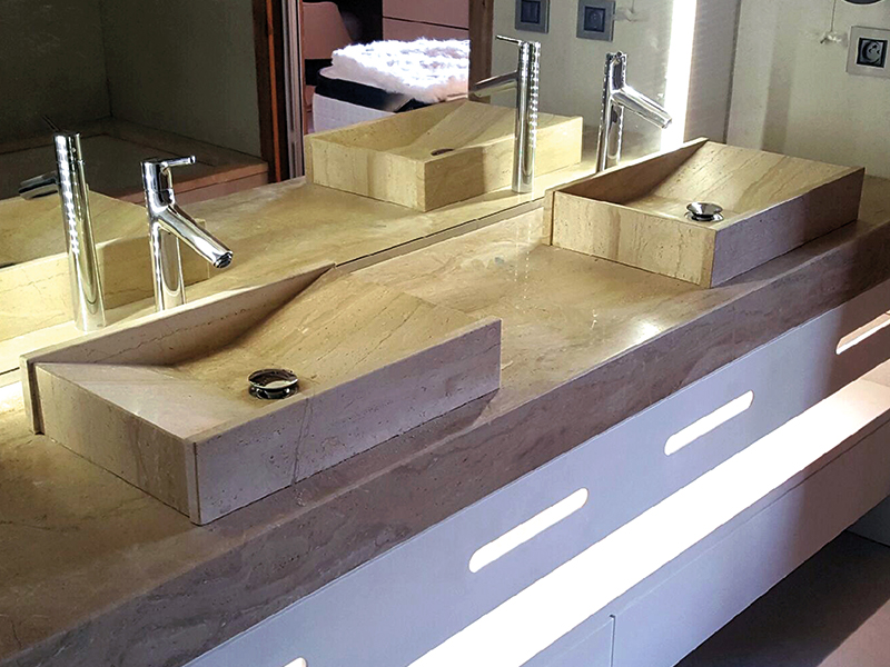 savoir faire salle de bain carrara concepteur en. Black Bedroom Furniture Sets. Home Design Ideas